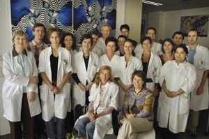 Prof. Dr. Marie-José Tassignon and her team