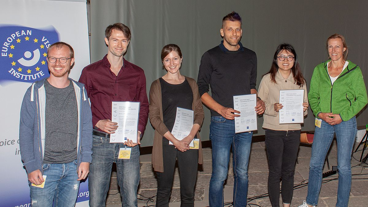ZEISS Poster Award at the Young Researcher Vision Camp 2019