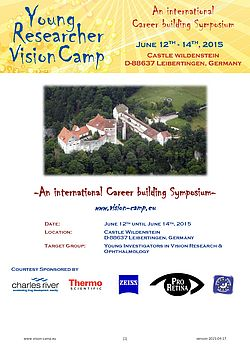 Young Researcher Vision Camp 2015 - Preliminary Agenda