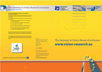 Image The Gateway to Vision Research - Flyer